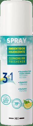 Producto: Spray ambientador higienizante limón