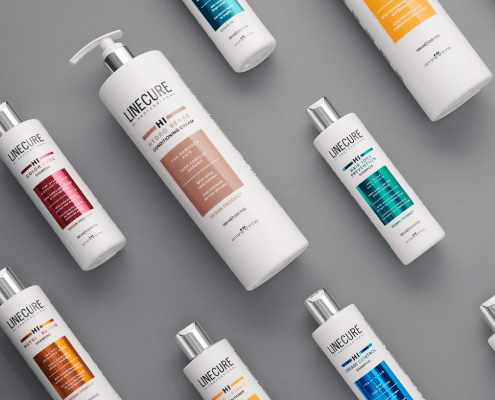 Linecure Shampoos and Conditioners